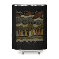 Misty Mountains - shower-curtain - small view