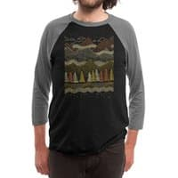 Misty Mountains - triblend-34-sleeve-raglan-tee - small view
