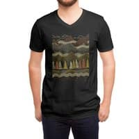 Misty Mountains - vneck - small view