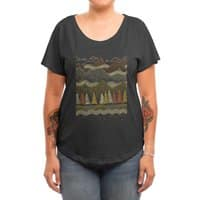 Misty Mountains - womens-dolman - small view