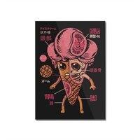 Ice Cream Kaiju - vertical-mounted-acrylic-print - small view
