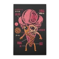 Ice Cream Kaiju - vertical-stretched-canvas - small view