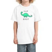 Sup Brontosaurus? - kids-tee - small view