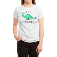 Sup Brontosaurus? - womens-triblend-tee - small view