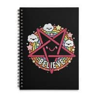 Believe - spiral-notebook - small view