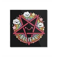 Believe - square-mounted-acrylic-print - small view