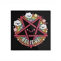 Believe - square-mounted-aluminum-print - small view