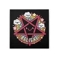 Believe - square-stretched-canvas - small view