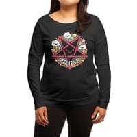 Believe - womens-long-sleeve-terry-scoop - small view