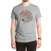 Cat Fight - mens-extra-soft-tee - small view