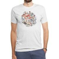 Cat Fight - mens-triblend-tee - small view