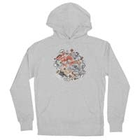 Cat Fight - unisex-lightweight-pullover-hoody - small view