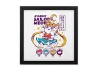 Shoujo Kitty - black-square-framed-print - small view