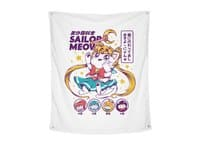 Shoujo Kitty - indoor-wall-tapestry-vertical - small view