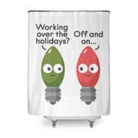 Seasonal Employment - shower-curtain - small view