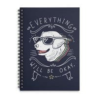 Wholesome Pupper - spiral-notebook - small view
