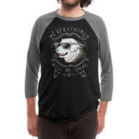 Wholesome Pupper - triblend-34-sleeve-raglan-tee - small view