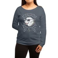 Wholesome Pupper - womens-long-sleeve-terry-scoop - small view