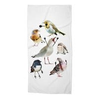 Birds with Arms - beach-towel - small view