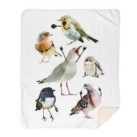Birds with Arms - blanket - small view
