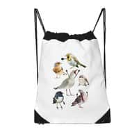 Birds with Arms - drawstring-bag - small view