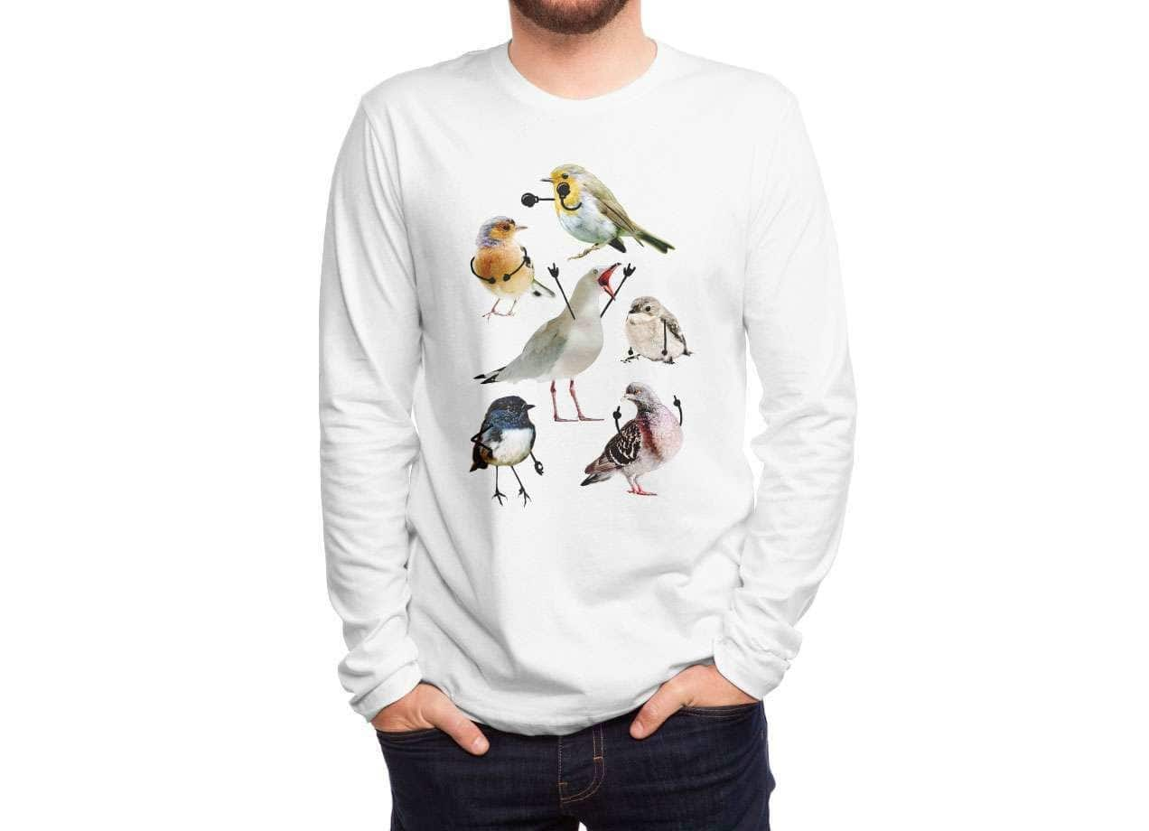 3910872d Birds with Arms by Nicholas Ginty | Men's T-Shirt Threadless