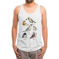 Birds with Arms - mens-triblend-tank - small view