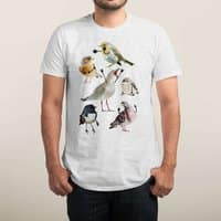 Birds with Arms - mens-triblend-tee - small view