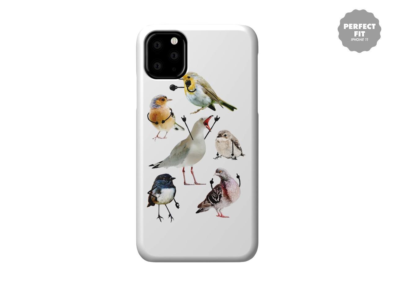 Puffins iPhone 11 case