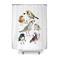 Birds with Arms - shower-curtain - small view