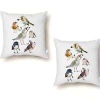 Birds with Arms - throw-pillow - small view