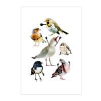 Birds with Arms - vertical-print - small view