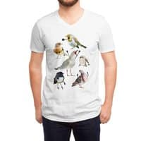 Birds with Arms - vneck - small view