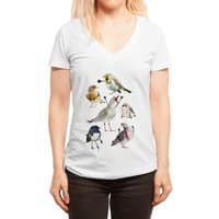 Birds with Arms - womens-deep-v-neck - small view