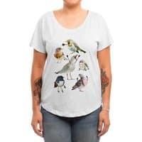 Birds with Arms - womens-dolman - small view