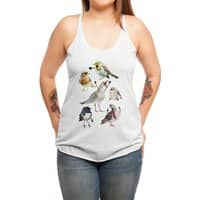 Birds with Arms - womens-triblend-racerback-tank - small view