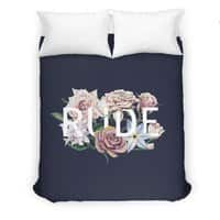 Floral Rude - duvet-cover - small view