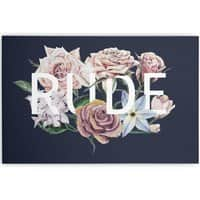 Floral Rude - horizontal-canvas - small view
