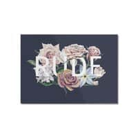 Floral Rude - horizontal-mounted-acrylic-print - small view