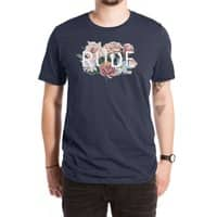 Floral Rude - mens-extra-soft-tee - small view
