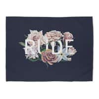 Floral Rude - rug-landscape - small view