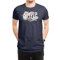 Floral Rude - mens-regular-tee - small view