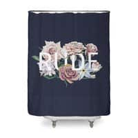Floral Rude - shower-curtain - small view