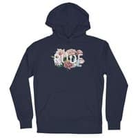 Floral Rude - unisex-lightweight-pullover-hoody - small view