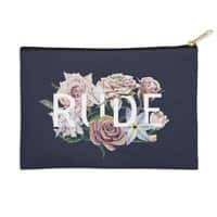 Floral Rude - zip-pouch - small view