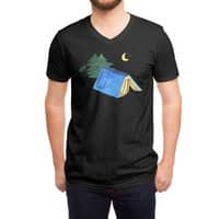 Book Camp - vneck - small view