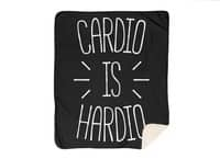 Cardio is Hardio - blanket - small view