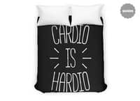 Cardio is Hardio - duvet-cover - small view