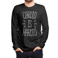 Cardio is Hardio - mens-long-sleeve-tee - small view