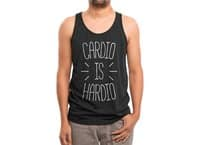 Cardio is Hardio - mens-triblend-tank - small view